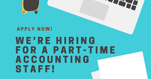 Part Time Accounting Staff