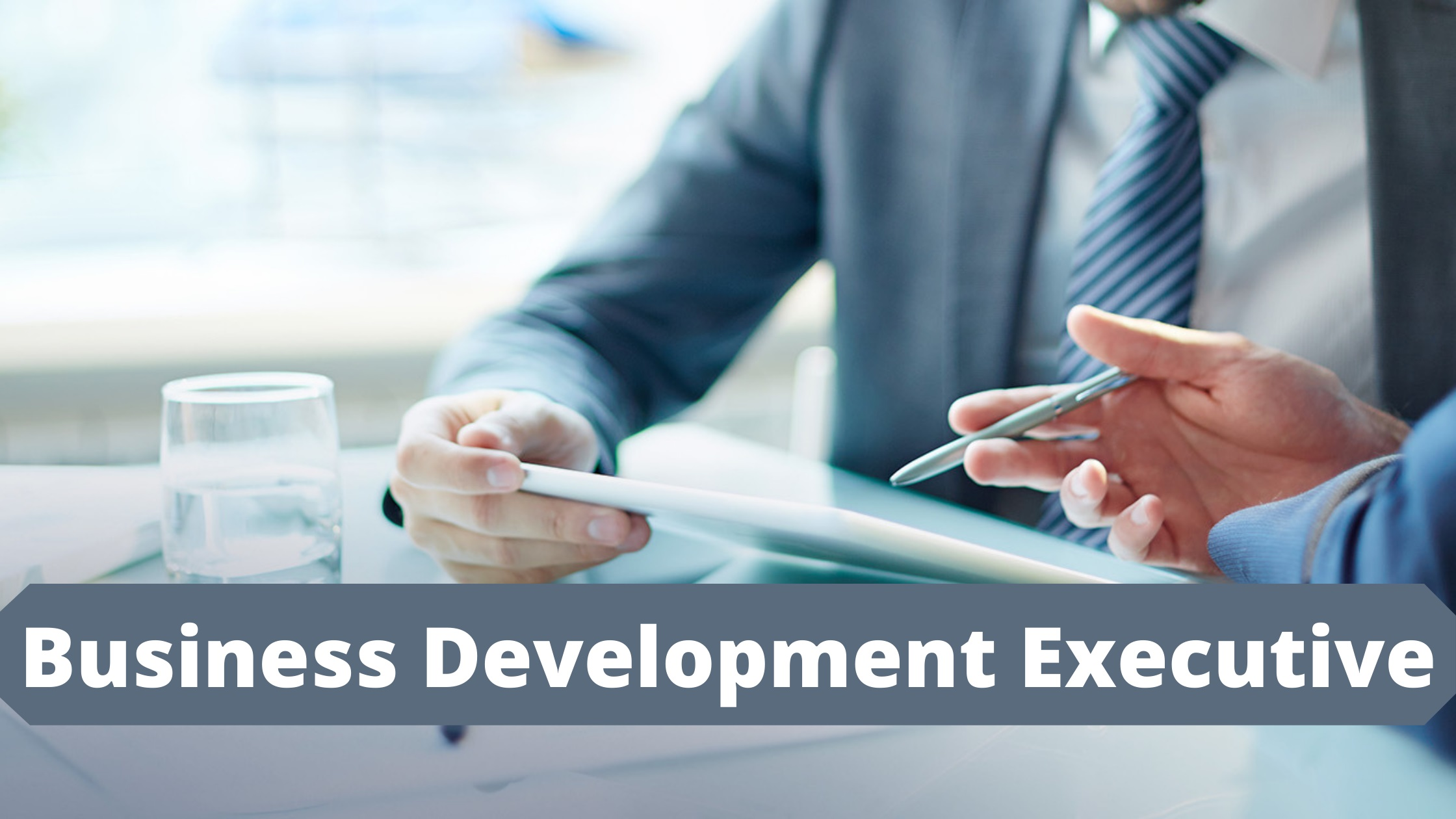 We are Hiring: Business Development Executive