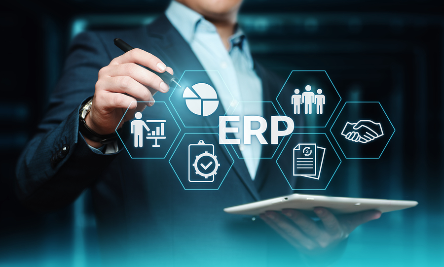 What is an ERP (Enterprise Resource Planning) System, and why is it important for businesses?